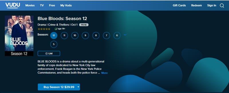 Watch Blue Bloods: Season 12